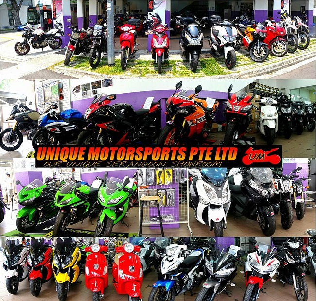 Welcome To Unique Motorsports Pte Ltd